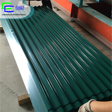 color corrugated galvalume roof panels/color corrugated galvanized steel roofing plate/color corrugated sheet