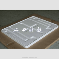 White Plastic Tray For Automobile Industry