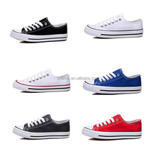 vulcanized ladies rubber soles casual flat shoes