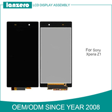 High Quality OEM Display for Sony Ericsson Z1L39h Lcd Touch Panel for Sony Spare Parts