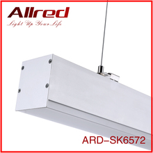 High quality 4ft 48w 6000k 5000lm led hanging lights pendent lamp for hotel shops