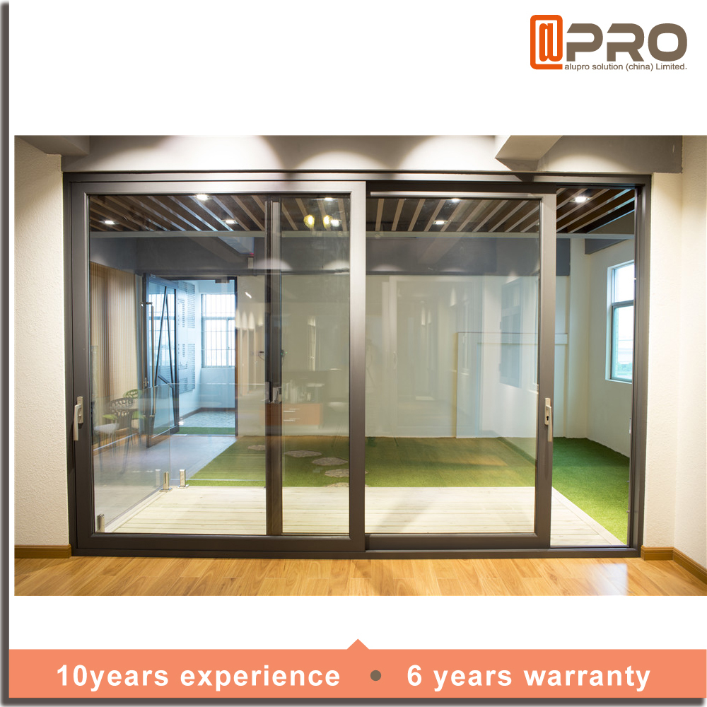 Commercial Aluminum Double Glazed Glass Sliding Doors Buy Double