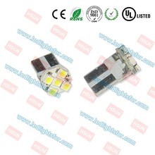 High quality T10 4 LED SMD1210 (PCB) 194 led bulb/t10 led car bulb
