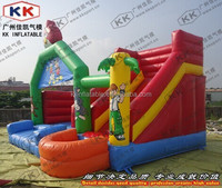 Birds inflatable combo, inflatable jumping house with slide price