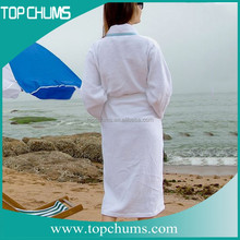 100% cotton bleach heavy men women bath terry towel bathrobes
