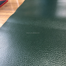Eco-friendly Material Green Color PVC Synthetic Leather