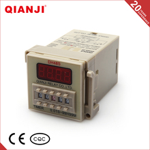 QIANJI 2016 AC220V 110vac power relay,Electronic Digital Time Relay