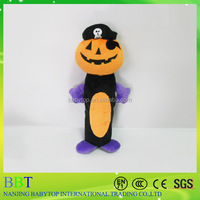 Hot new products plush pumpkin dog toys, halloween elements plush labrador dog soft toy