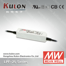 Meanwell LPF Series 25w 24v constant current and voltage led driver