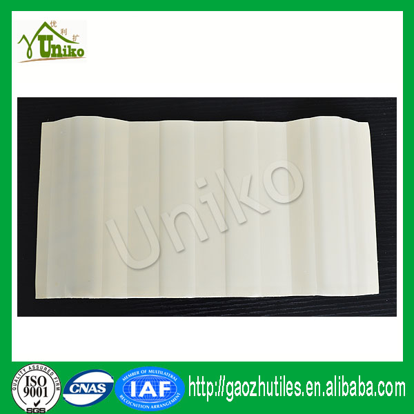competitive light bule anti-uv pioneering excellence corrugated pvc roof tile with CE certificate