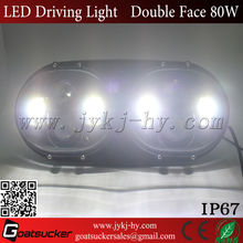 TOP Sales Original Car Double Light Lens LED Headlight for harley dual motorcycle headlamps
