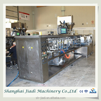 Fully automatic pouch plastic bag liquid sealing machine