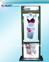 New Invention ! magnetic levitation led display rack for underwear, bra for indian women