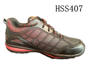 UK hot sale outdoor hikking/walking/climbing safety trainers work sport shoes