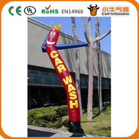 High quality Promoting car wash inflatable air dancer for sale