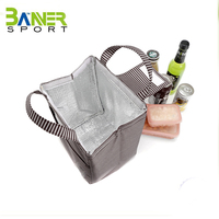 Hot Sale insulated cooler canvas lunch bag /lunch box bag for girl woman