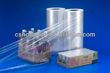 Transparent Thickness 28mic PVC PLASTIC FILM for packaging
