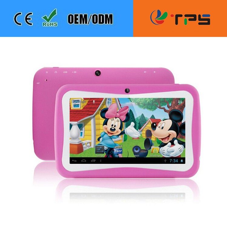 cheap tablet pc for school students/ kids tablet 7inch cheap price With Rockchip 7 Inch RK3026 Dual core kids tablet