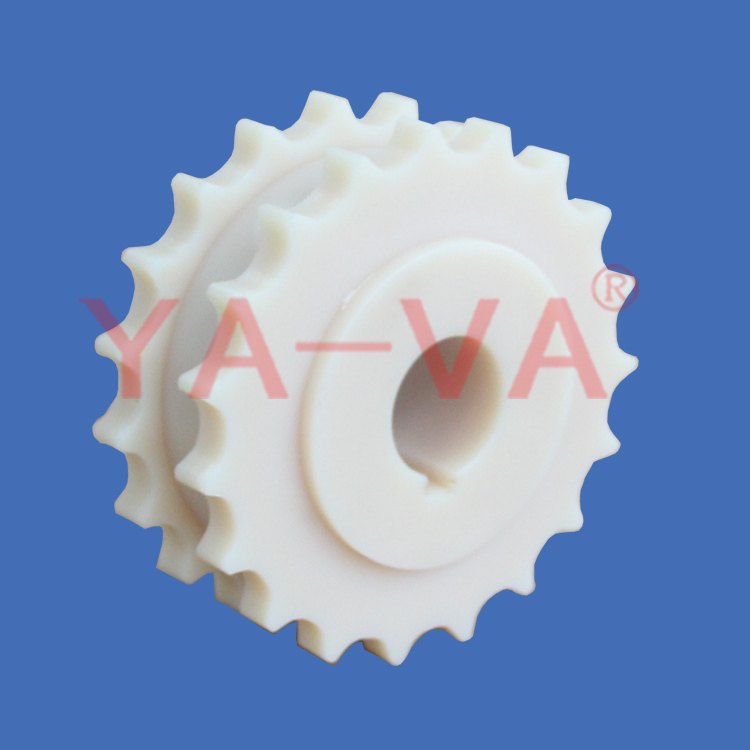 Conveyor System 820-K325 plastic chain matching sprockets and idler wheels
