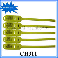 CH311 high quality barcode plastic security seal