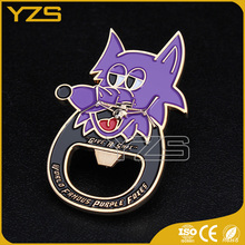 factory zinc alloy custom bottle opener