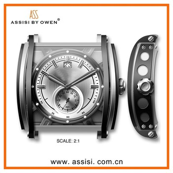 Assisi 2014 japan movt stainless steel quartz roles luxury watches for men