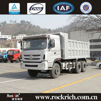 10 wheelers low price china manufacture 30 ton tipper truck hot sale