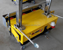 Automatic Render ready mix Plastering Machine for Construction