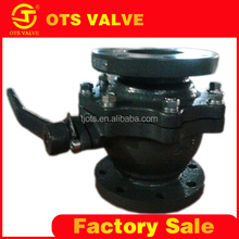 QV-LY-012 OTS flange type wafer type ball valve 3 inch for water system