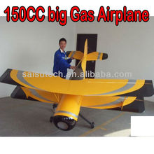 large scale rc airplane 150cc gas engine rc airplane PITTS 150cc
