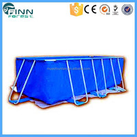 Modern Stainless Steel Frame Outdoor or Indoor Molded Plastic Swimming Pool