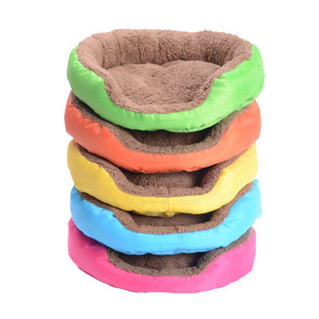 Custom Cheap High Quality Luxury Royal Touch Cotton Chew Proof Pet Dog Beds