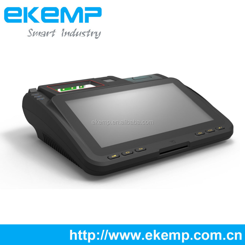 EKEMP P10 Smart POS Terminal Integrated 58mm thermal printer For Time Attendant
