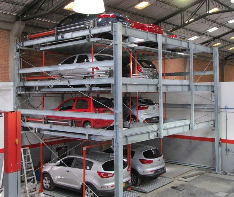 Mutrade hydraulic semi-automatic puzzle parking <strong>system</strong>