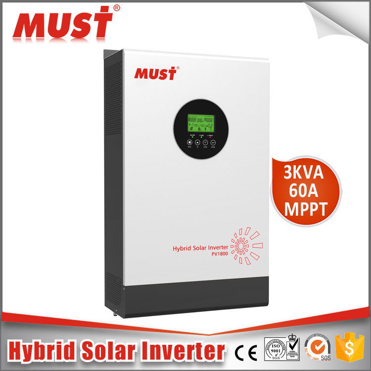PV18-3K HM 3000va 24V inverter dc to ac inverter Pure Sine Wave MPPT solar inverter price philippines