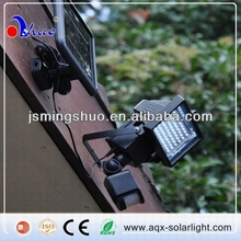 2W Solar wall light with PIR sensor, Solar Landscape Lights