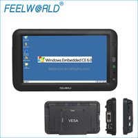 FEELWORLD 7 inch embedded pc monitor with Lan Port RJ45 USB Host 1.1 Mini USB 2.0 RS232 input