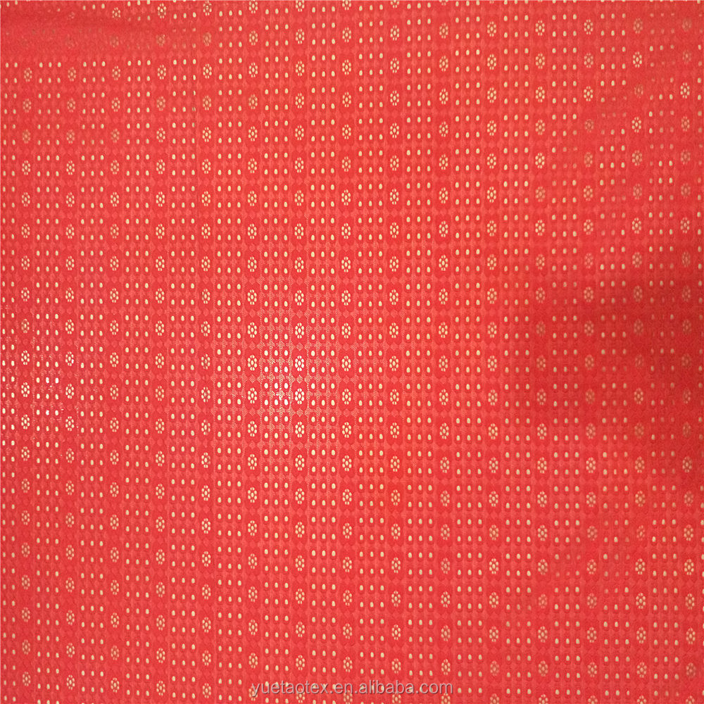 2016 Old Fashion Dot Design Nylon Spandex Lace Fabric