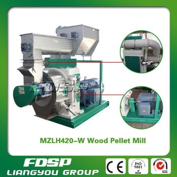 Easy Operation Diesel Engine Factory price pellet machine for nut shell biofuels on sale