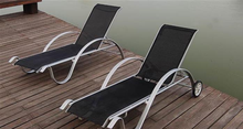 Stacking patio furniture sun bed /sunbed