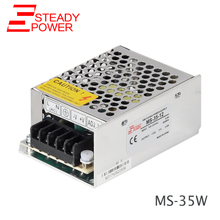 Small size 35w 110v 120v 220v 230v ac to 12v 3a power adapter 12 volt 3 amp dc regulated 36w led lights driver power supply