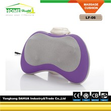 Fashion Rest Kneading Electric Neck And Shounder Massage Pillow With Infrared Heating For Car Or Home