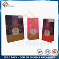 Environmental Rice Paper Flat Bottom Pouch for Pastry Packaging