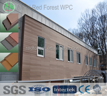 wpc solid deck panel price/wood plastic outdoor decking panel