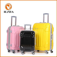 PC Travel Trolley Air Hard Luggage Bag For Sale,Aluminum Frame Luggage Bag