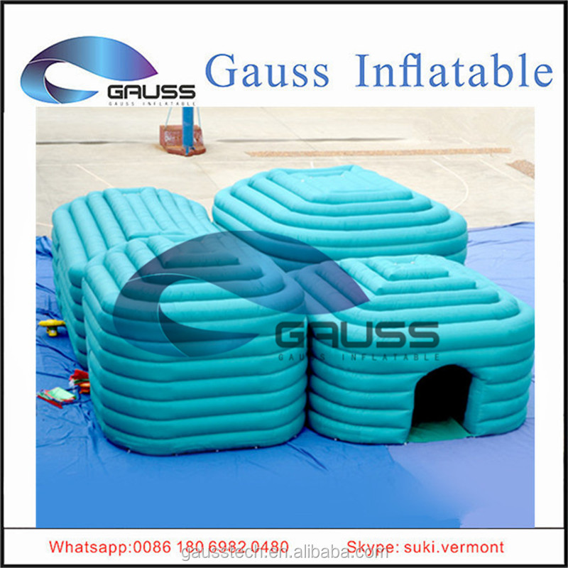Inflatable small house advertising tent
