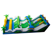 Jungle Giant inflatable obstacle/adult inflatable obstacle course for sale/inflatable playground obstacle game