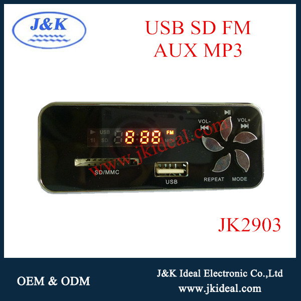 JK2903 usb sd fm mp3 chip