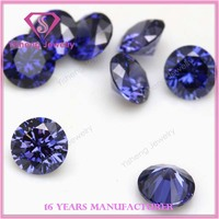 Custom made Tanzania Round Old European Cut CZ Stone