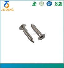 Manufacturing 4X34PA White Zinc Plated Flat Round Head Self Tapping Screw